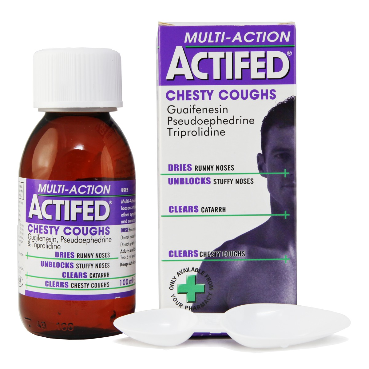 ACTIFED CHESTY COUGH 100ML