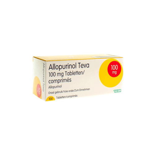 ALLOPURINOL 100MG TEVA