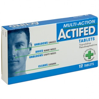 Actifed (Multi Action) Tablet
