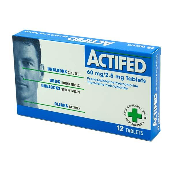 Actifed (Running Nose) Tablet