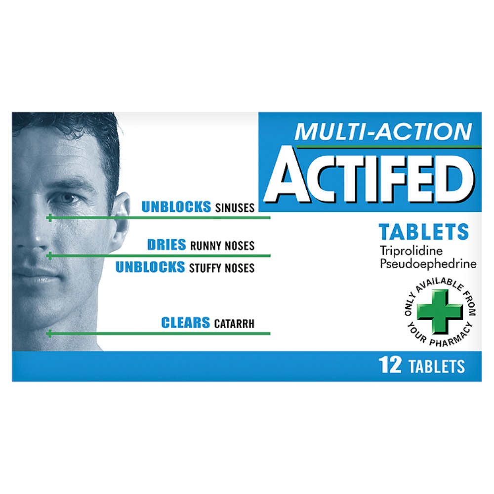 Actifed multi action
