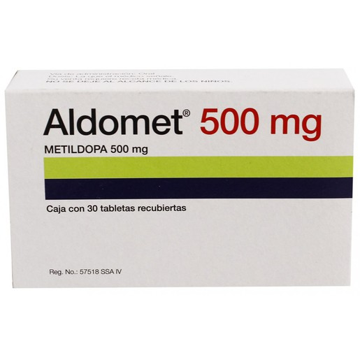 Aldomet 500mg Tablet