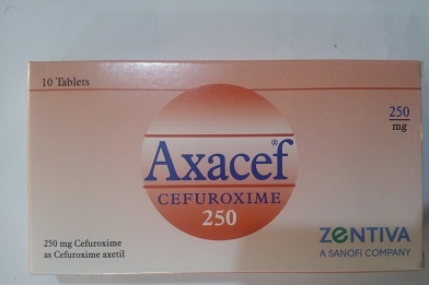 Axacef 250mg Tablet
