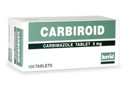 CARBIROID 5MG(CARBIMAZOLE)