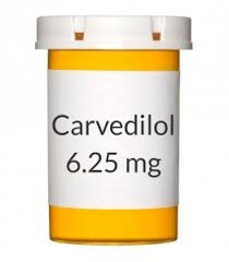 Carvedilol 6.25mg Tablet