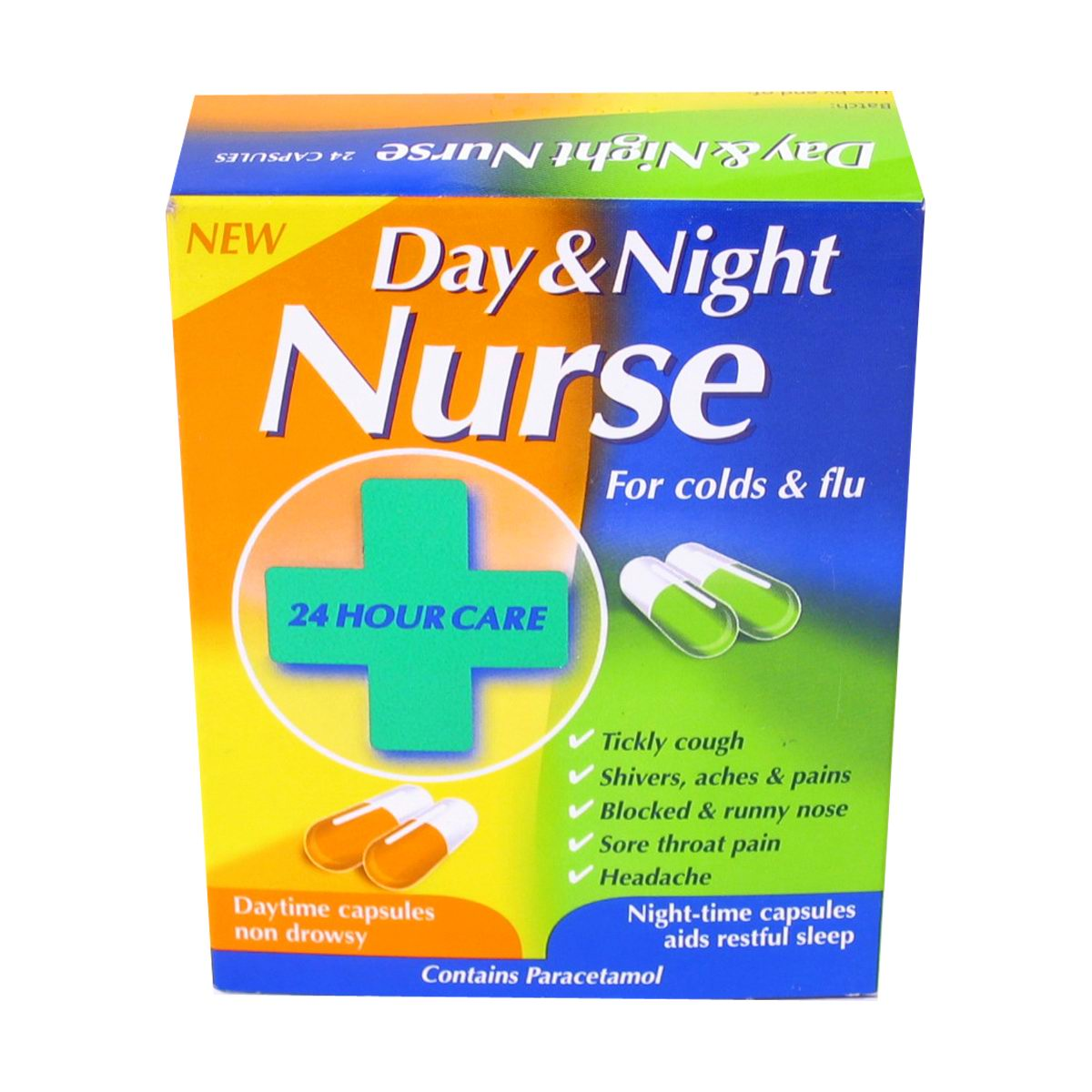 Day and night Nurse capsules