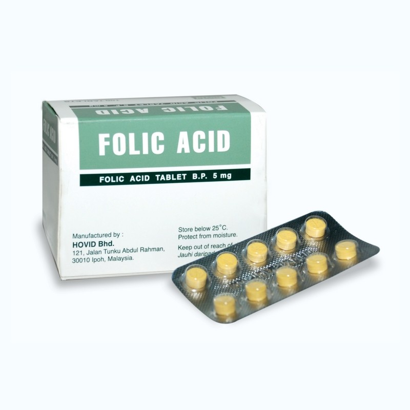 FOLIC ACID 5MG PHARM BLISTER