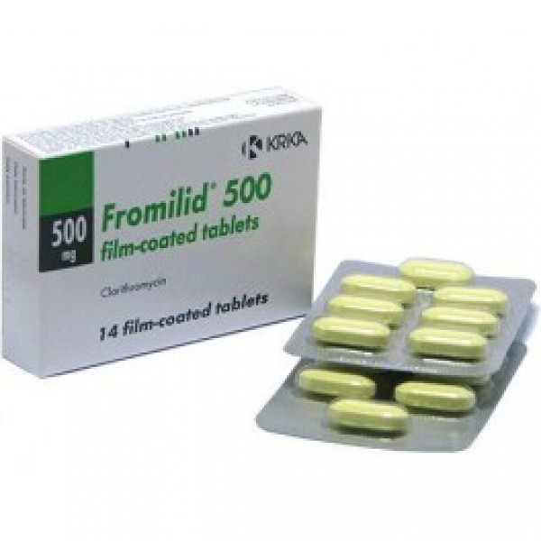 FROMILID 500MG (CLARITHROMYCIN)