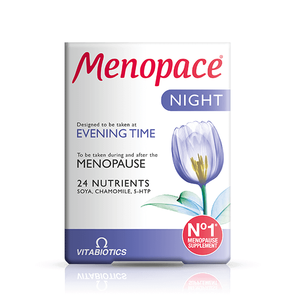 MENOPACE NIGHT CAPS