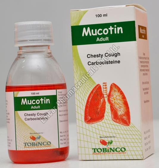 Mucotin Cough Syrup (Adult)
