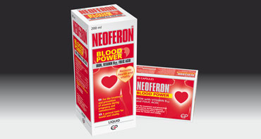 NEOFERON BLOOD POWER SYRUP