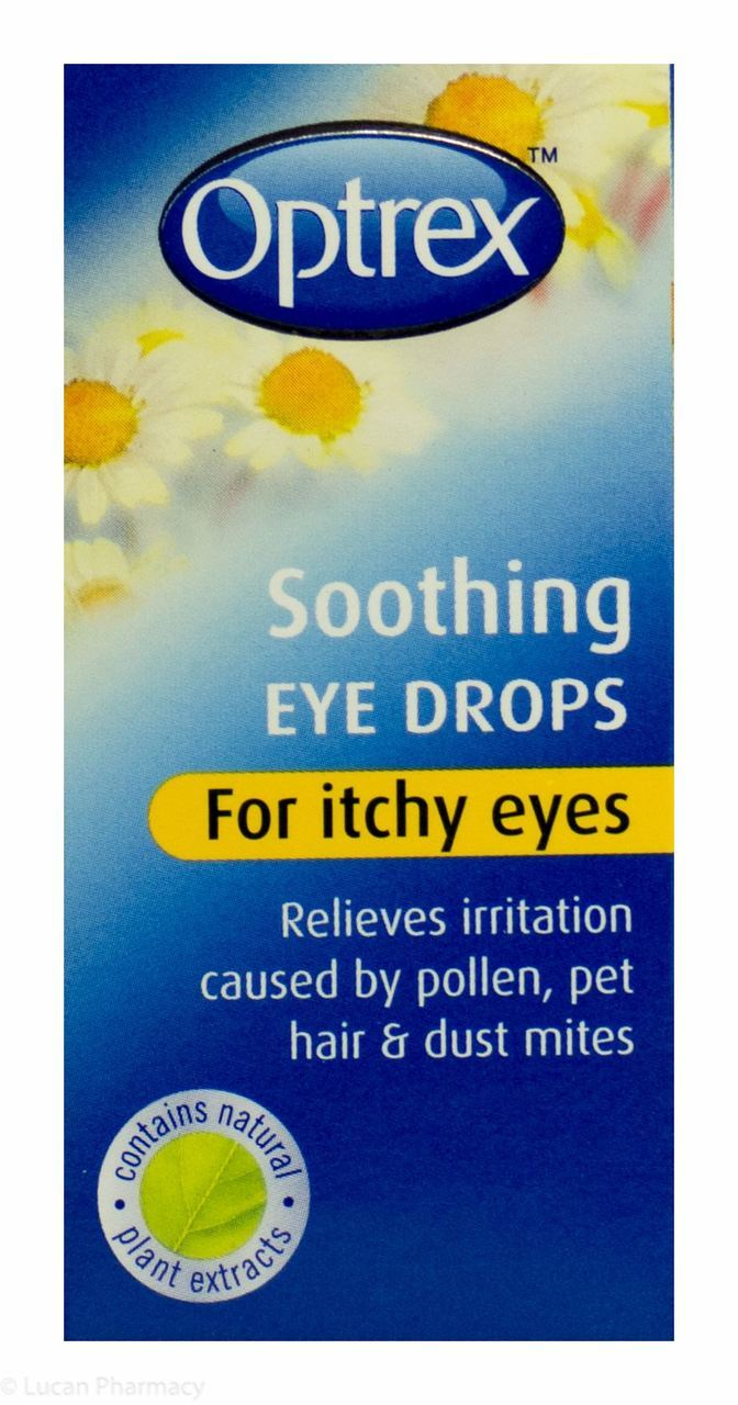 Optrex soothing eyedrop FOR Itchy eyes