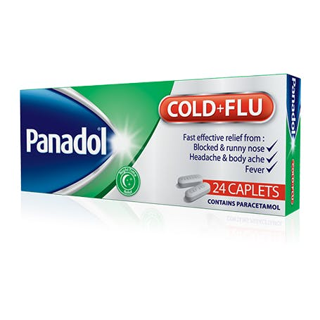 Panadol Cold and Flu Tablets