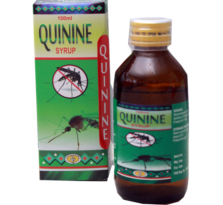 Quinine syrup