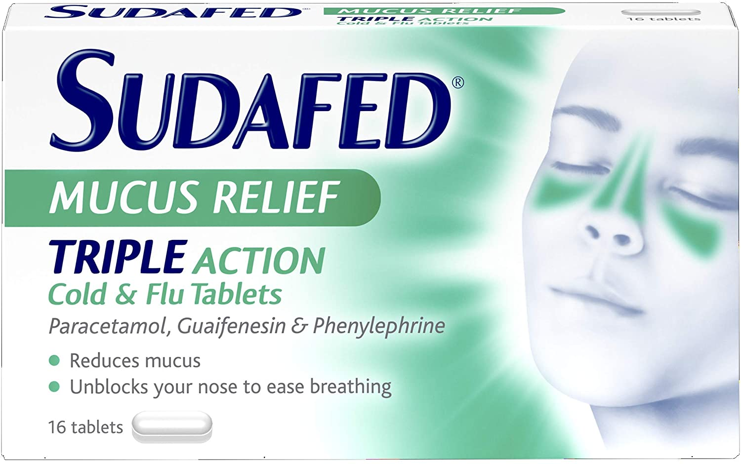 SUDAFED(TRIPLE ACTION) MUCUS