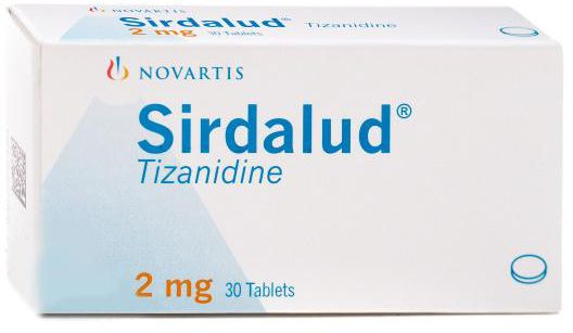 Sirdalud 2mg Tablets