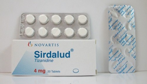 Sirdalud 4mg Tablets