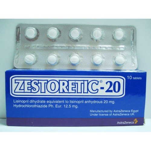 Zestoretic 20mg Tablet