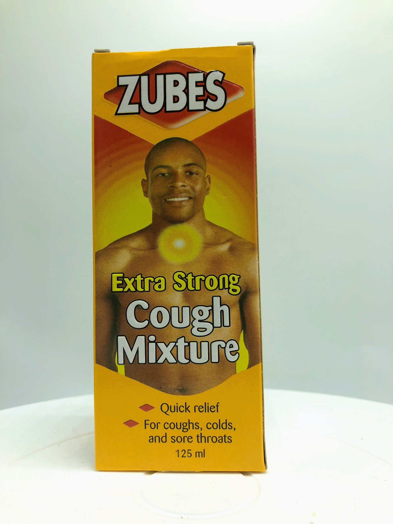 Zubes Extra Strong 125ml Syrup
